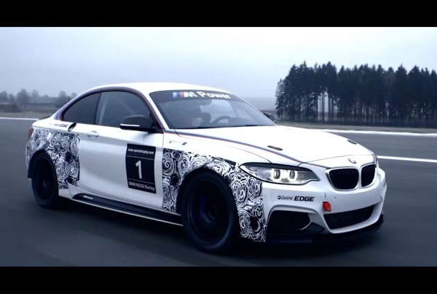 BMW M235i Racing prototype
