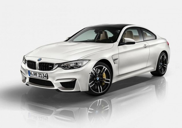 BMW M4 Individual Mineral White