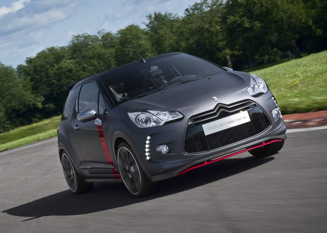 citroen ds3 racing cabrio production version revealed performancedrive. Black Bedroom Furniture Sets. Home Design Ideas
