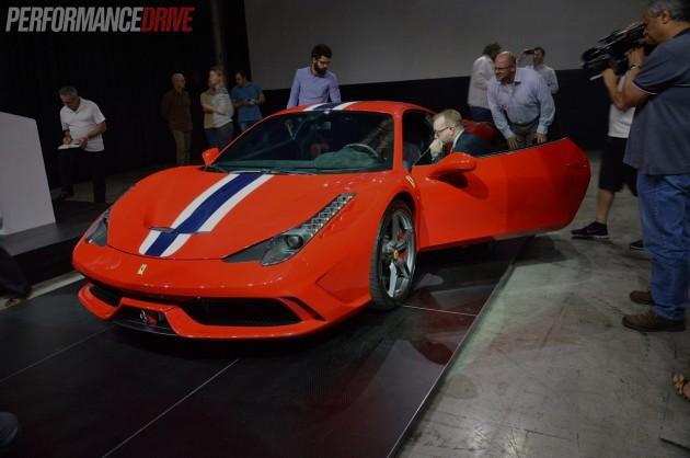 Ferrari 458 Speciale-Australian launch-1