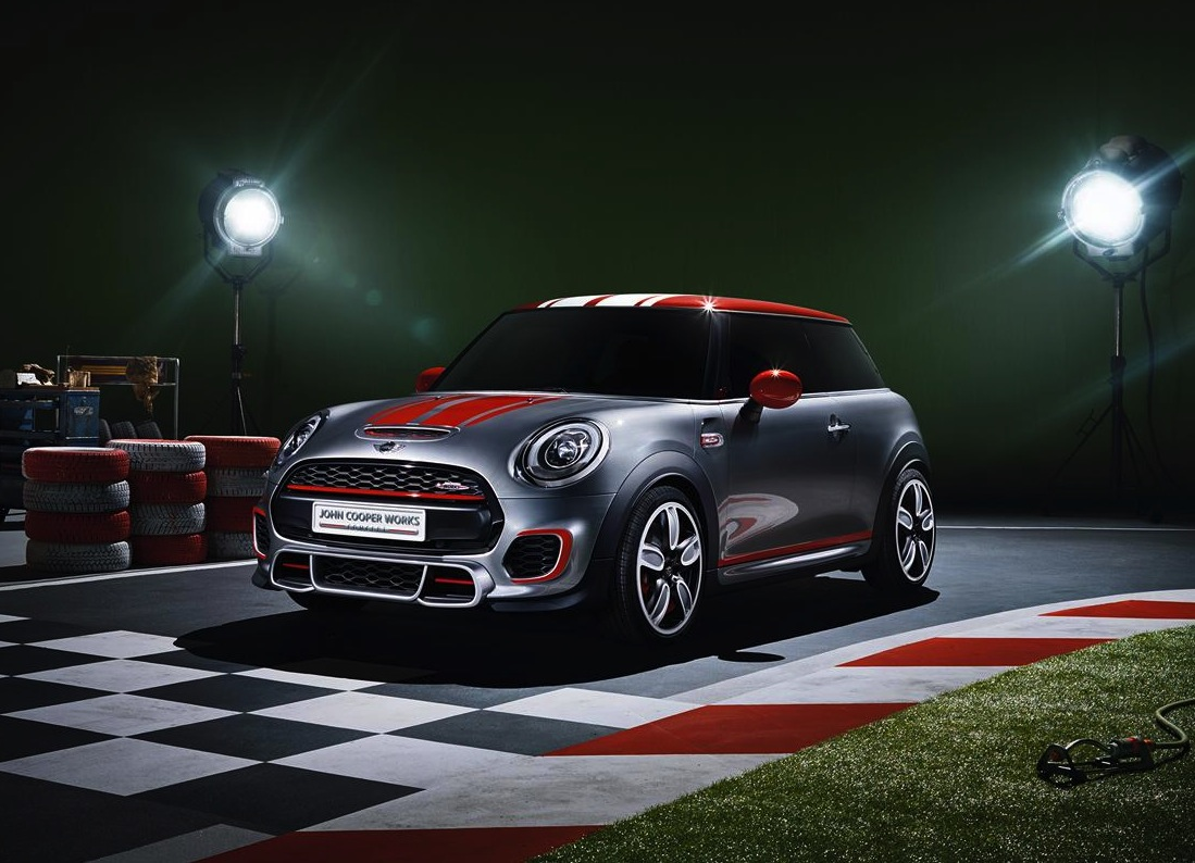 mini john cooper works concept previews new jcw performancedrive. Black Bedroom Furniture Sets. Home Design Ideas