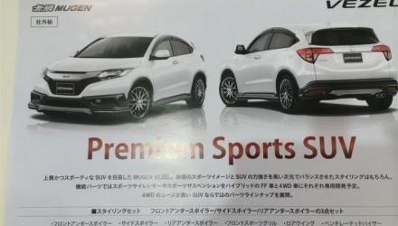 Mugen Honda Vezel brochure