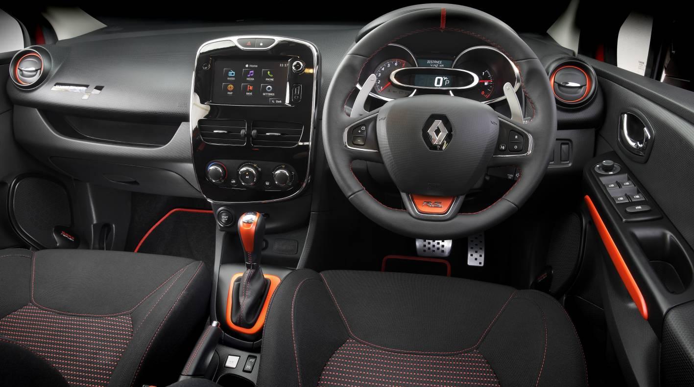 Renault Clio RS 200 EDC Sport interior