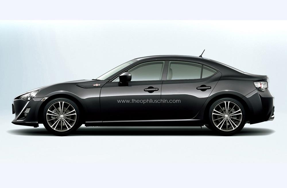 toyota 86 subaru brz sedan on the way turbo awd performancedrive. Black Bedroom Furniture Sets. Home Design Ideas