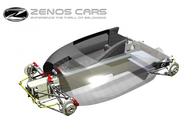 Zenos E10 chassis
