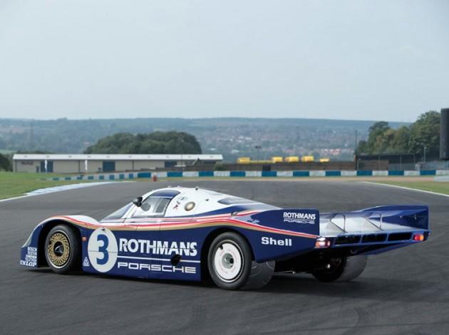 1982 Rothmans Porsche 956 Le Mans car-rear