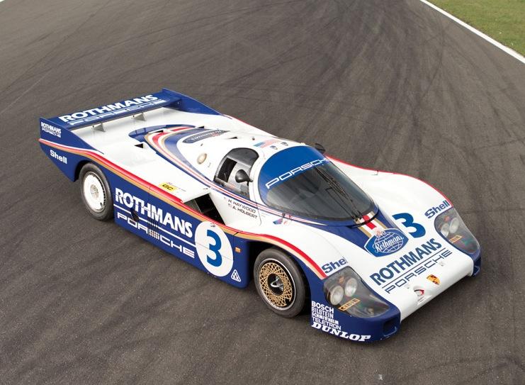 1982 Rothmans Porsche 956 Le Mans Car Top