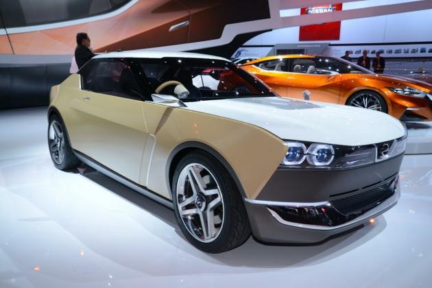 2014 Detroit show-Nissan IDx Freeflow Datsun 1600