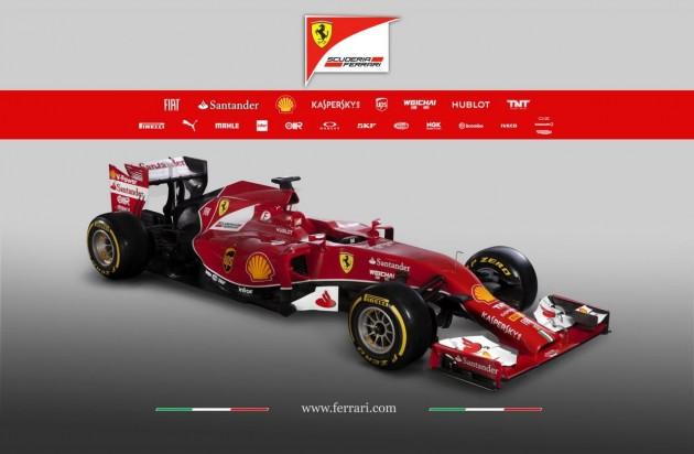 2014 Ferrari F14-T F1 car