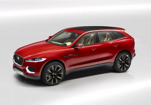 2014 Jaguar C-X17 SUV-front