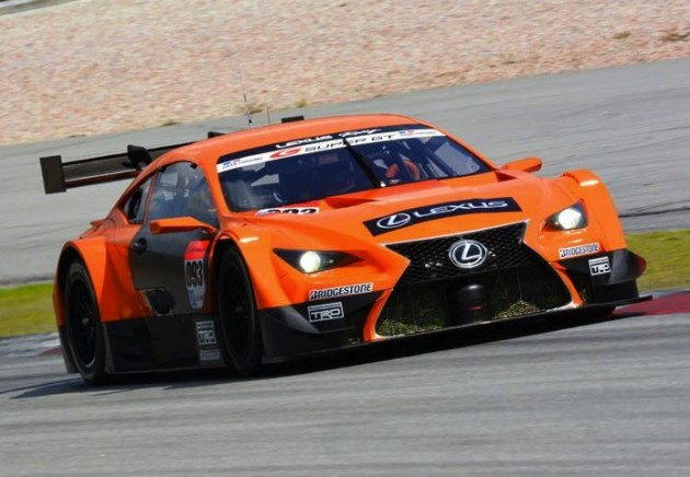2014 Lexus RC F GT500-orange