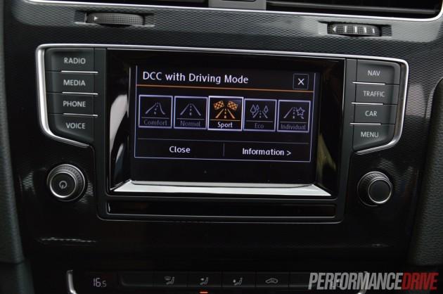 2014 Volkswagen Golf GTI Mk7-Driving Modes