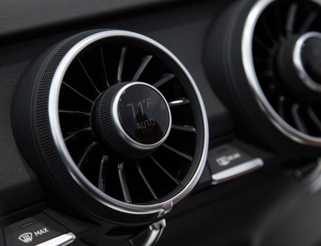 2015 Audi TT air vents