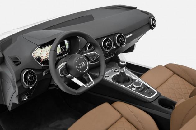 2015 Audi TT interior