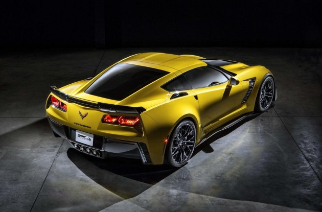 2015 Chevrolet Corvette Z06-rear