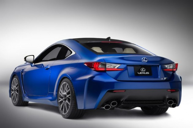 2015 Lexus RC F-rear