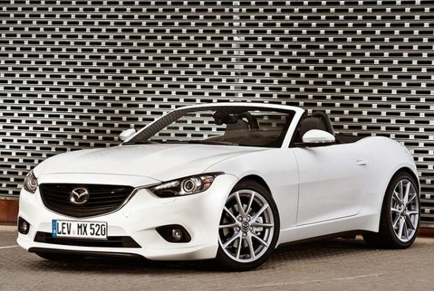 2015 Mazda MX-5 rendering speculation
