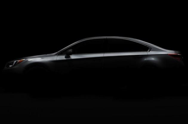 2015 Subaru Liberty teaser
