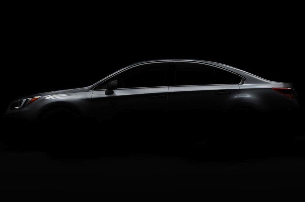 2015 Subaru Liberty previewed; sleeker, coupe-like layout