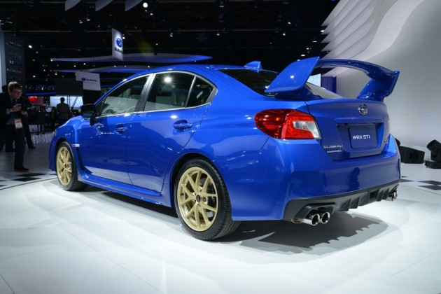 2015 Subaru WRX STI-rear wing