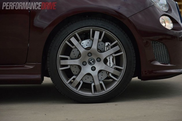 Abarth Maserati 695-Brembo brakes