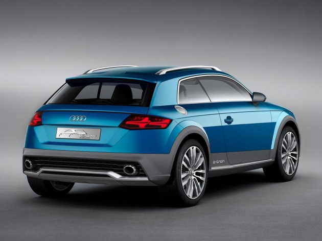Audi Allroad Shooting Brake concept rear
