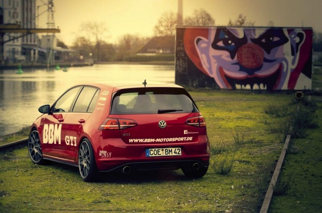 BBM Motorsport Volkswagen Golf GTI-rear