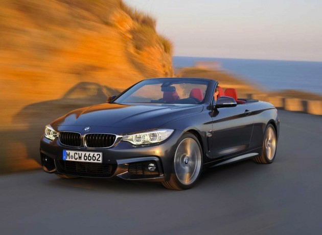 BMW 4 Series Convertible-grey