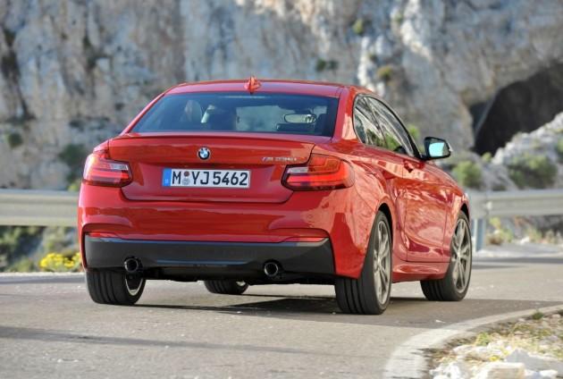 BMW M235i-rear