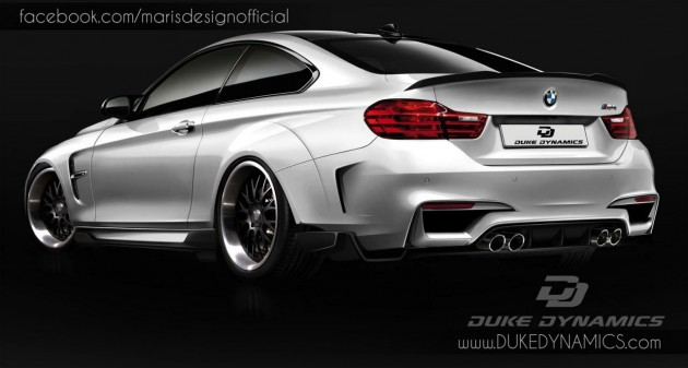 Duke Dynamics BMW M4-rear