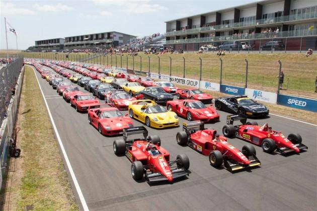 Ferrari New Zealand record 140-Hampton Down