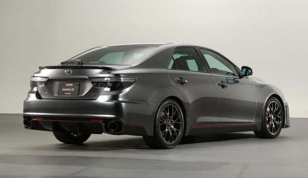 Gazoo Racing Toyota Mark X 2014-rear
