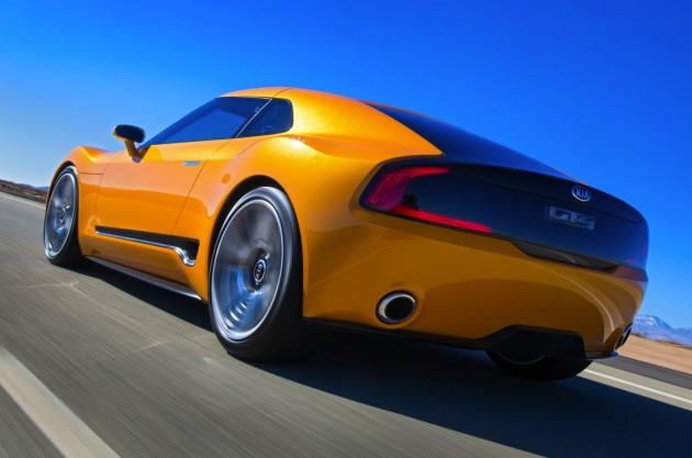 Kia GT4 concept-back