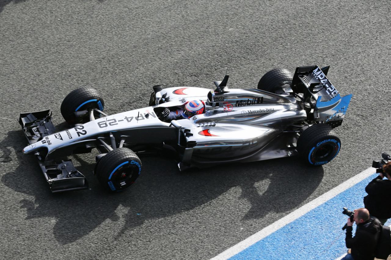 Mclaren Mp4 29 2014 F1 Top Jenson Button
