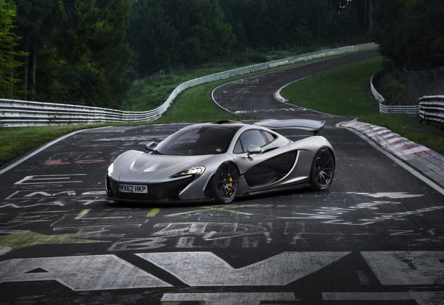 McLaren P1-Nurburgring