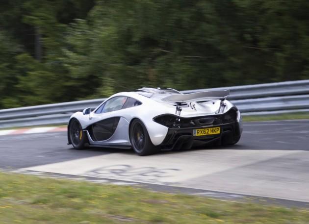 McLaren P1-Nurburgring-corner