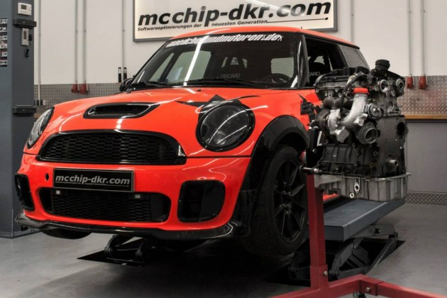 Mcchip MINI JCW Audi TFSI conversion-engine