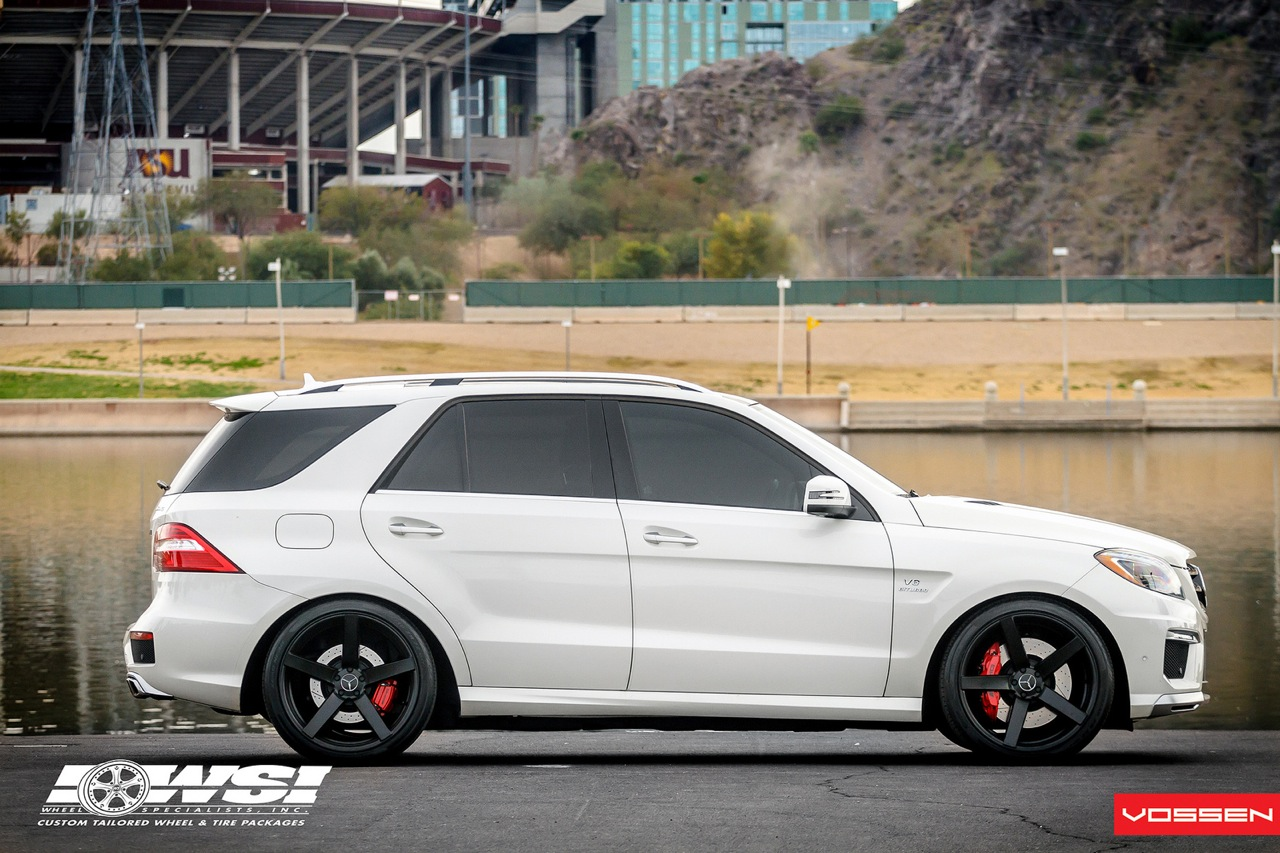 Mercedes benz ml 63 amg gets 22in vossen wheels for Amg wheels for mercedes benz