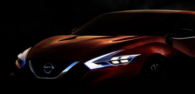 Nissan Sports Sedan concept teaser