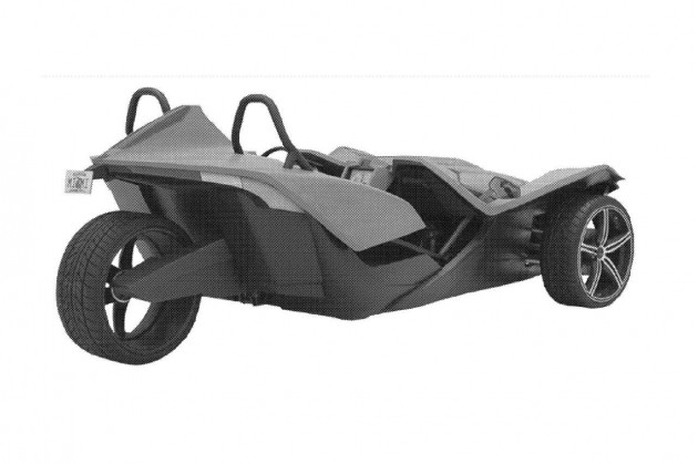 Polaris Slingshot rear-patent