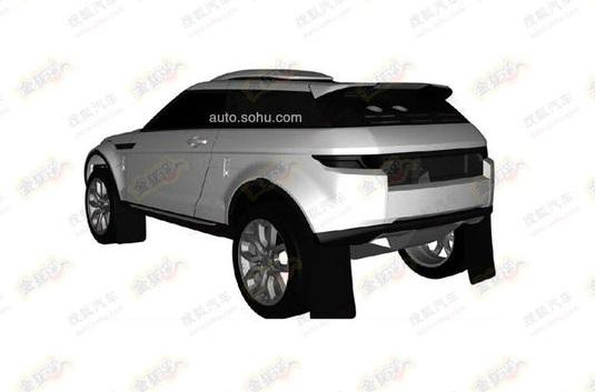 range rover evoque rally version coming patent found. Black Bedroom Furniture Sets. Home Design Ideas