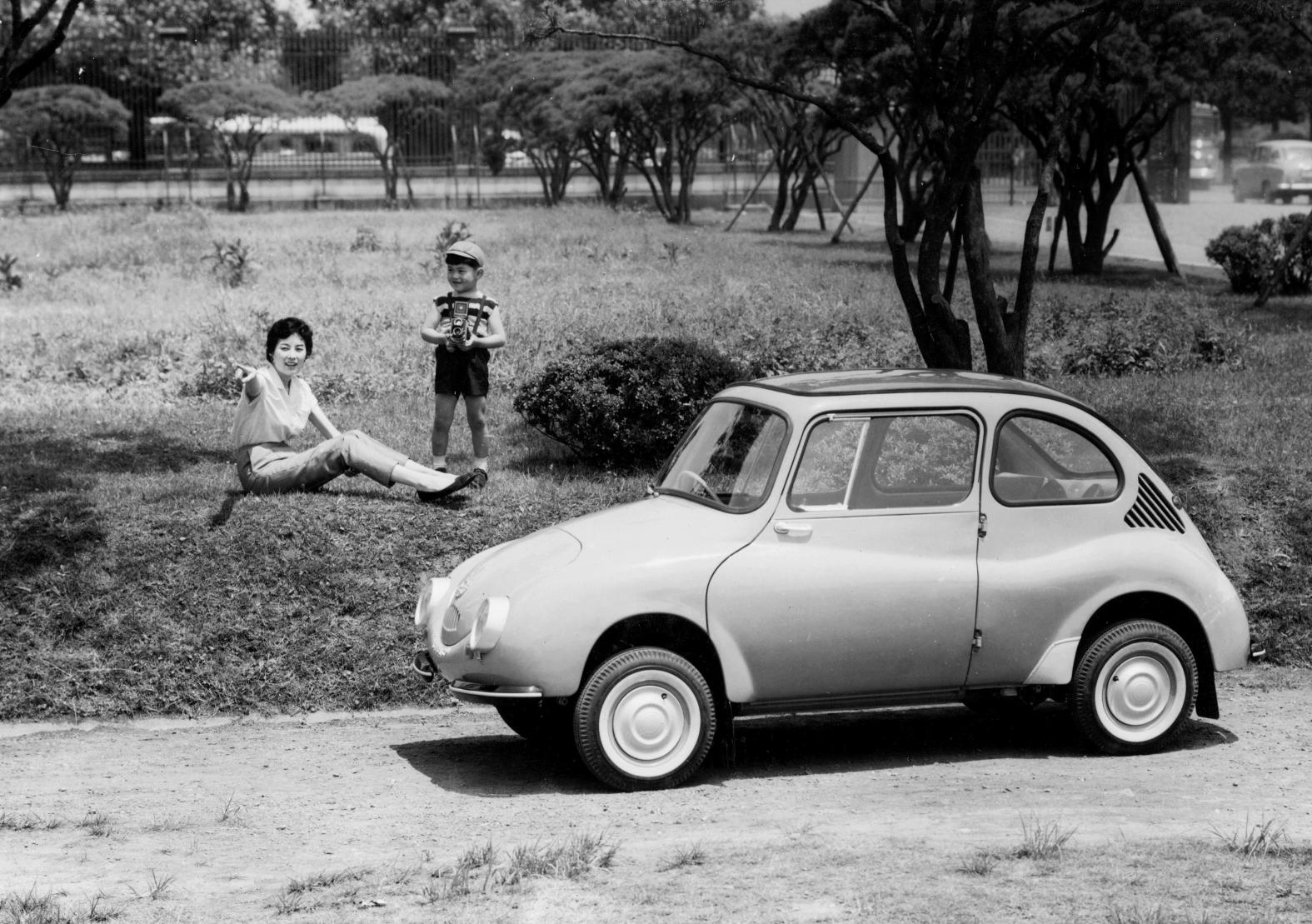 Fuji heavy industries makes 20 millionth car since 1958 subaru 360 vanachro Image collections