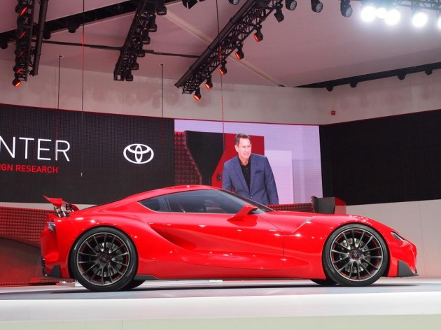 Toyota FT-1 concept-Detroit profile