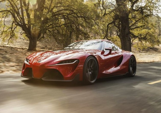 Toyota FT-1 concept-driving