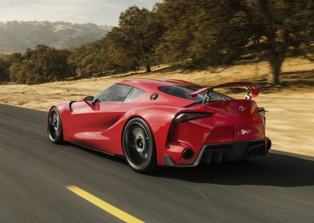 Toyota FT-1 concept-rear wing