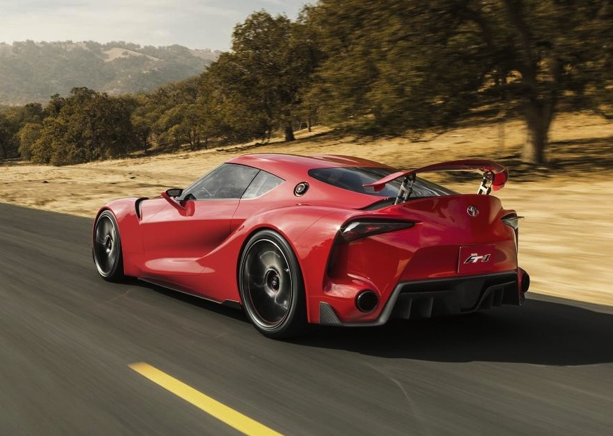 Toyota Ft 1 Concept Revealed Previews New Supra