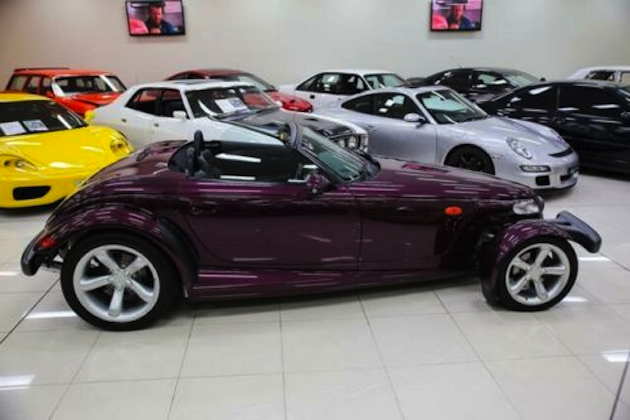 For Sale 1998 Plymouth Prowler Rare Rhd Conversion