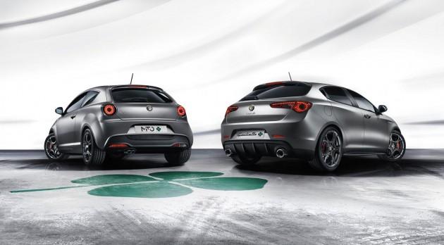 2014 Alfa Romeo MiTo and Giulietta QV-rear
