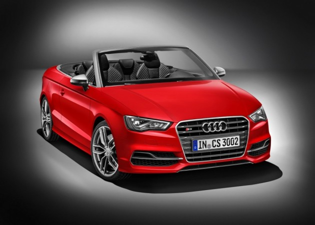 2014 Audi S3 Cabriolet-red