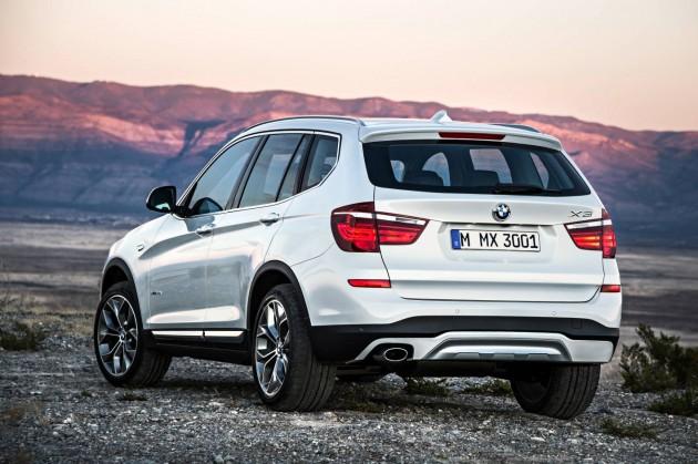2014 BMW X3-back